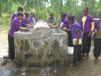 2013 Azezo Secondary Water Tap Project funded by COFRA