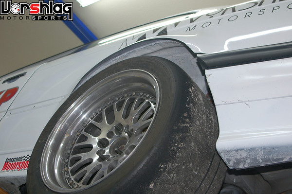 rear flares on Alpha car from under