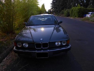 '87 BMW e32 735i restoration