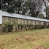 The top part of the fence had lattice work but my neighbors dogs loved to push on it till it fell. Dogs will be dogs. No problem. I put 1/2 inch sheeting over the lattice. The left side was a gap.
