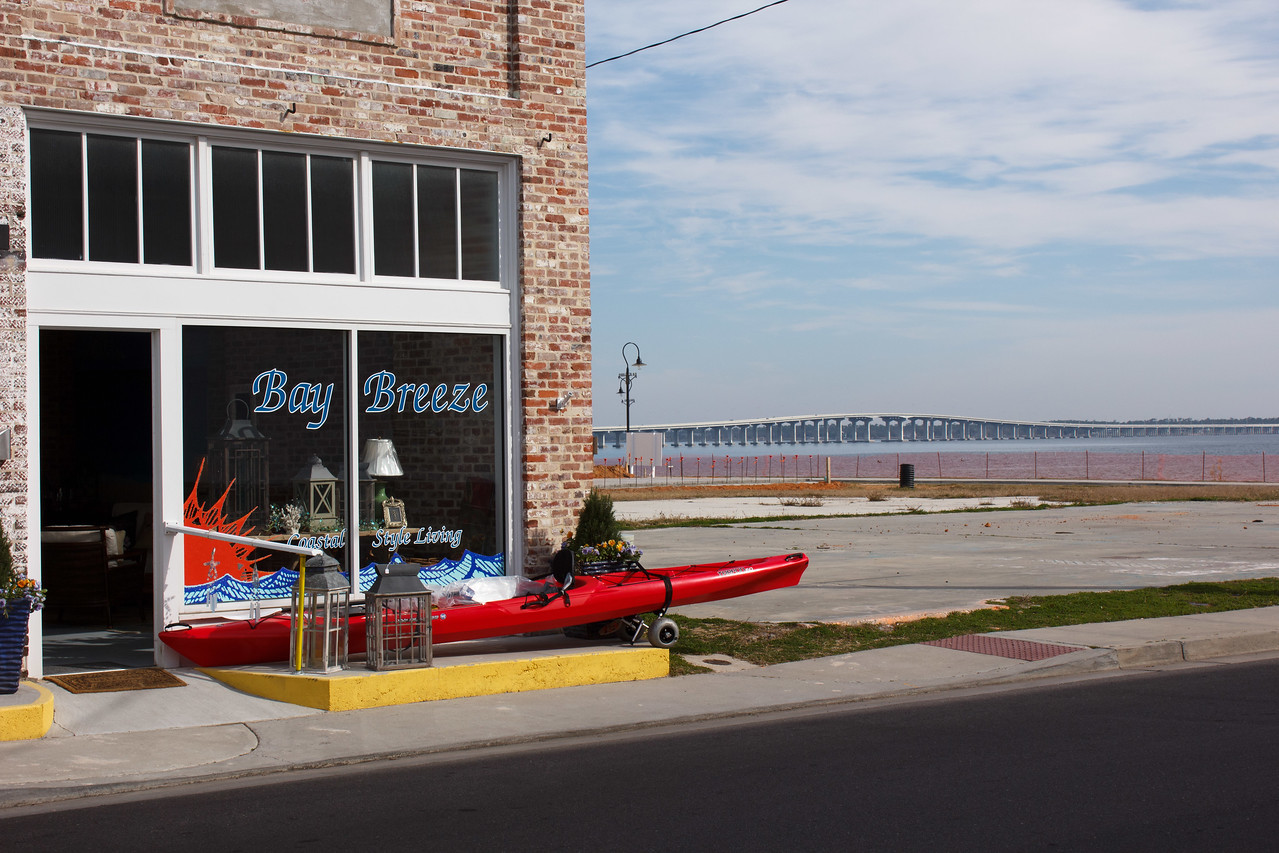 Bay Breeze has everything from kayaks to lawn furniture to table lamps.
