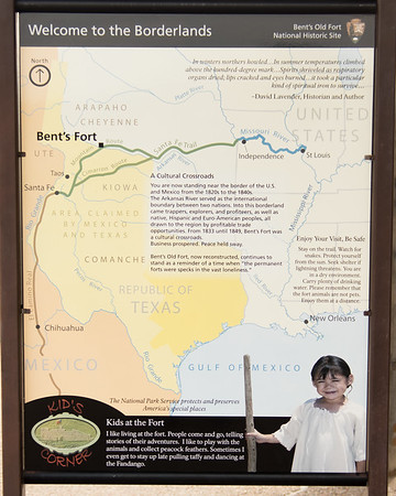 Information, Bent's Old Fort, CO (Sep 2018)