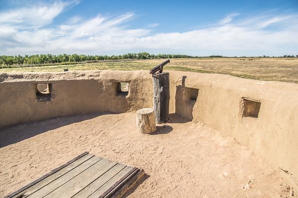 Southwest Bastion, Bent's Old Fort, CO (Sep 2018)