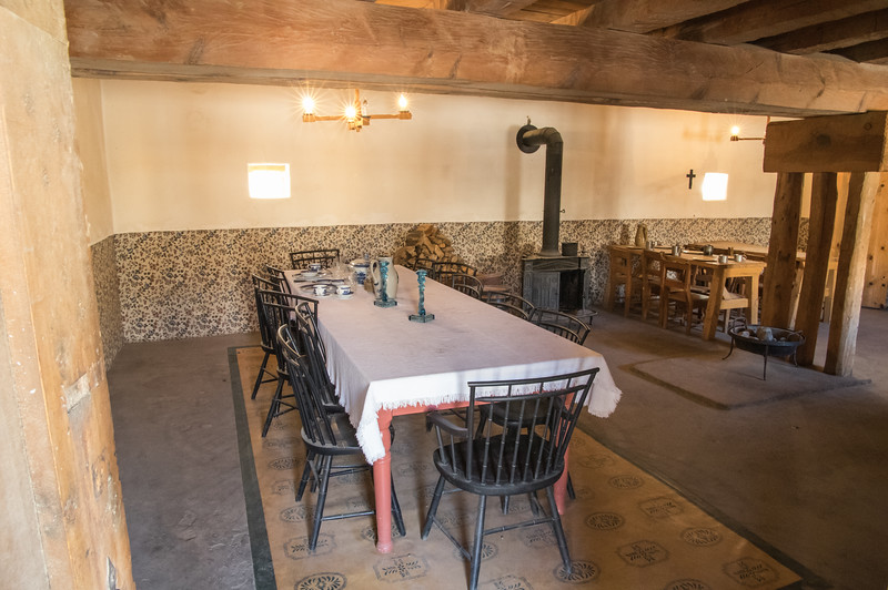 Dining Room, Bent's Old Fort, CO (Sep 2018)