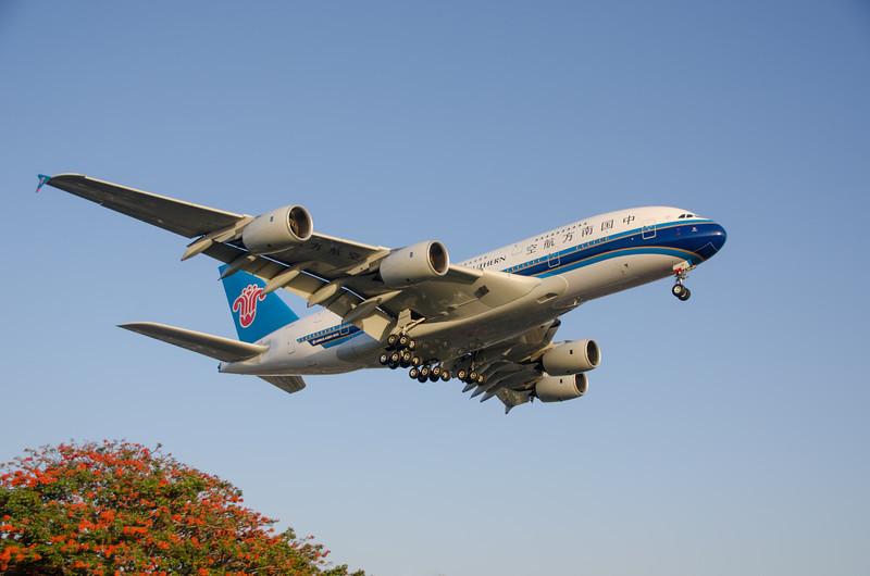 China Southern Airbus A380-800, B-6138