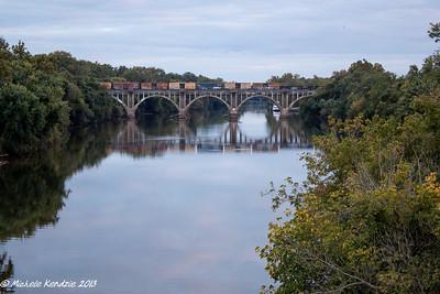 Rappahannock River Train Bridge, Fredericksburg, Virginia