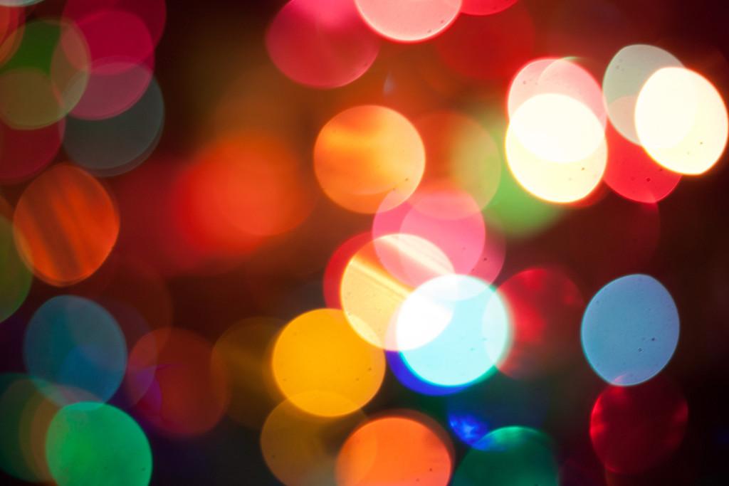 Christmas Light Bokeh