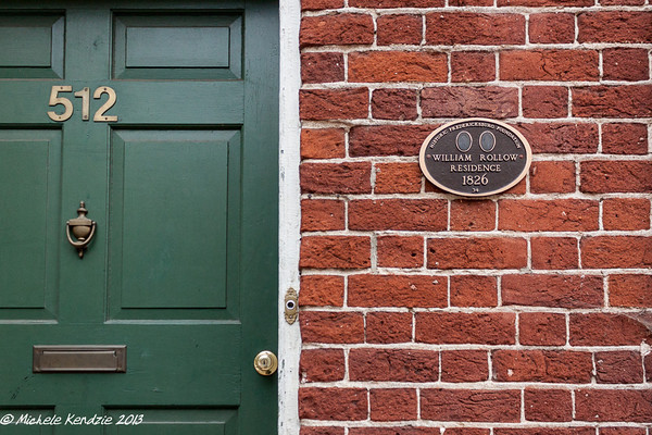 William Rollow Residence 1826, Historic Fredericksburg Foundation, Virginia