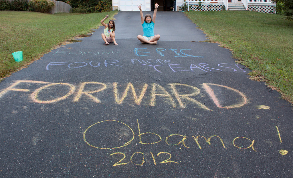 Forward with Obama!