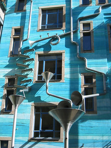 Funky facades in Kunsthofpassage