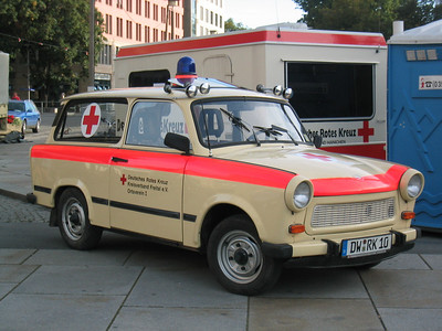 Is this really an ambulance? Dresden, Germany