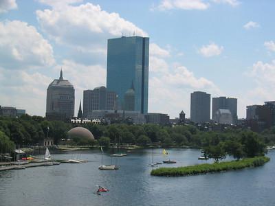 View from Longfellow Bridge, Boston