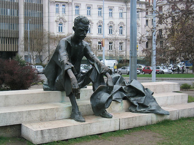 Statue of Poet Attila Jozsel