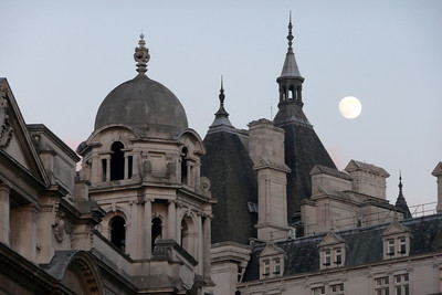 Full Moon on Banqueting House