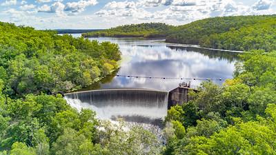Manton Dam Spillway