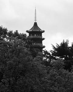 Great Pagoda in kew gardens