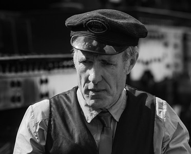 Station Master at the Railway Station