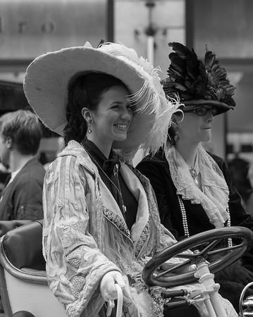 Lady in Edwardian Costum