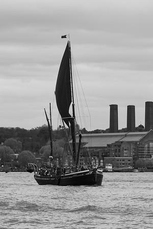 1906 - Hydrogen Sailing Barge