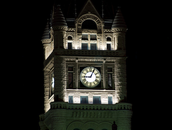 Clock Tower, 9:04 PM