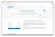 Calite Web Homepage