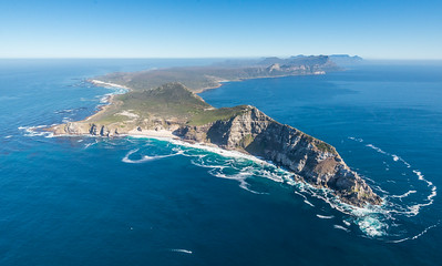 Cape Point from above