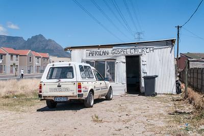 Langa township scene III