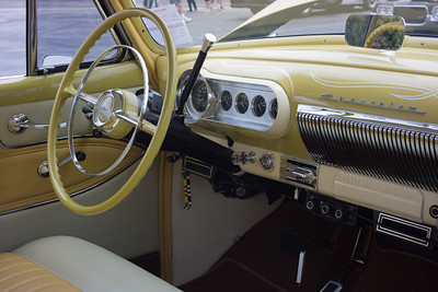 1954 Chevy, interior