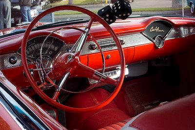 1955 Chevy, interior