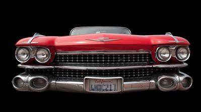 """""""Jaws"""" (1959 Cadillac, front), Morro Bay, CA"""