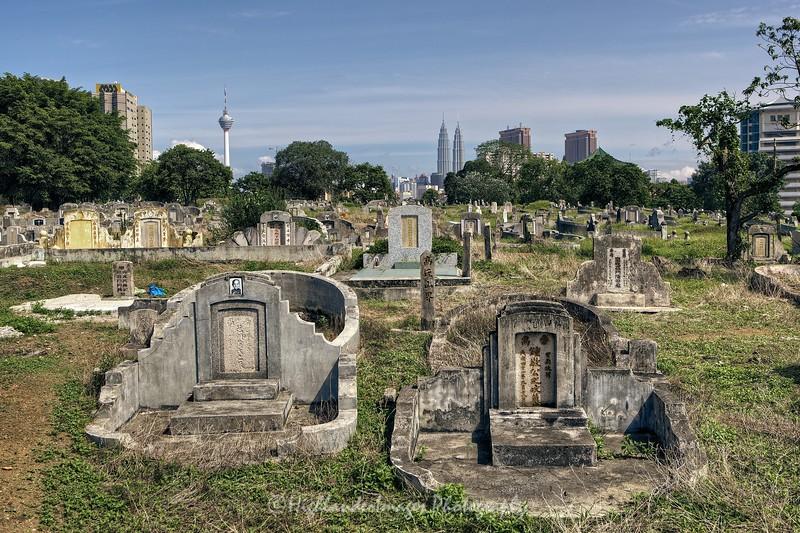 Kwong Tong Chinese Cemetery, Kuala Lumpur
