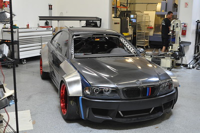 BMW E46 M3 CSL V8 Downforce Monster - Chainsaw Massacre