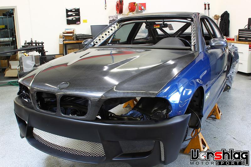 Vorshlag Bmw E46 M3 Csl V8 Downforce Monster Track Car Chainsaw