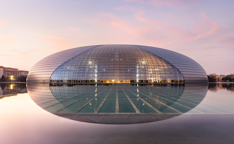 National Centre for the Performing Arts; Beijing China