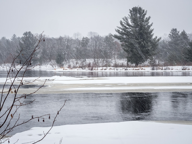 Winter Storm On the Chippewa