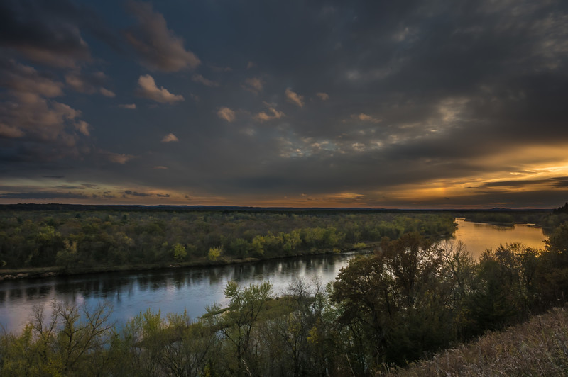 Golden Hour On the Chippewa River