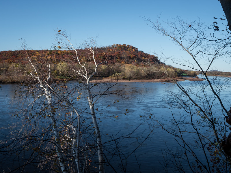 Autumn on the lower Chippewa River