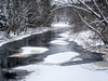 The East Fork After a Night Of Snow