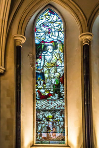 Anne Stained Glass Window