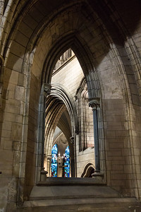 St. Patrick's Cahhedral Arch View.