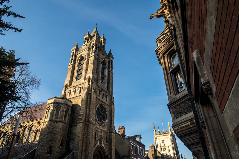 Cambridge, Emmanuel United Reformed Church,