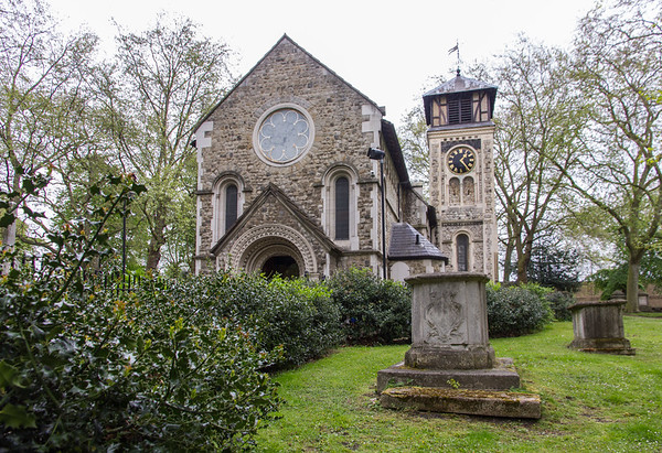 London, St. Pancras Old Church