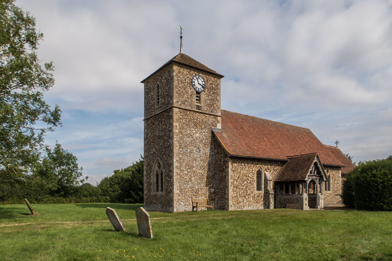 Langley Upper Green, St John the Evangelist