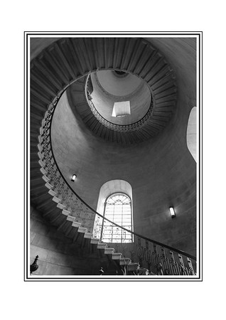 Staircase, St Paul's Cathedral, London