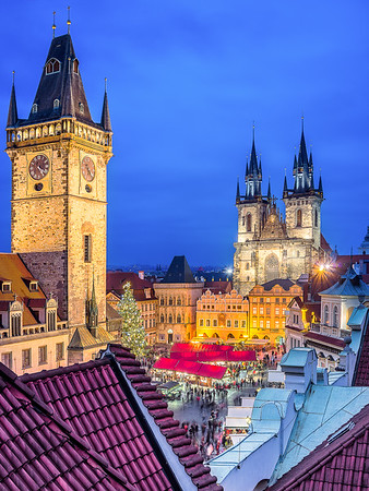 Old Town Square – Prague, Czech Republic