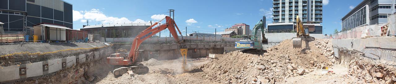 Green Square Close Excavation