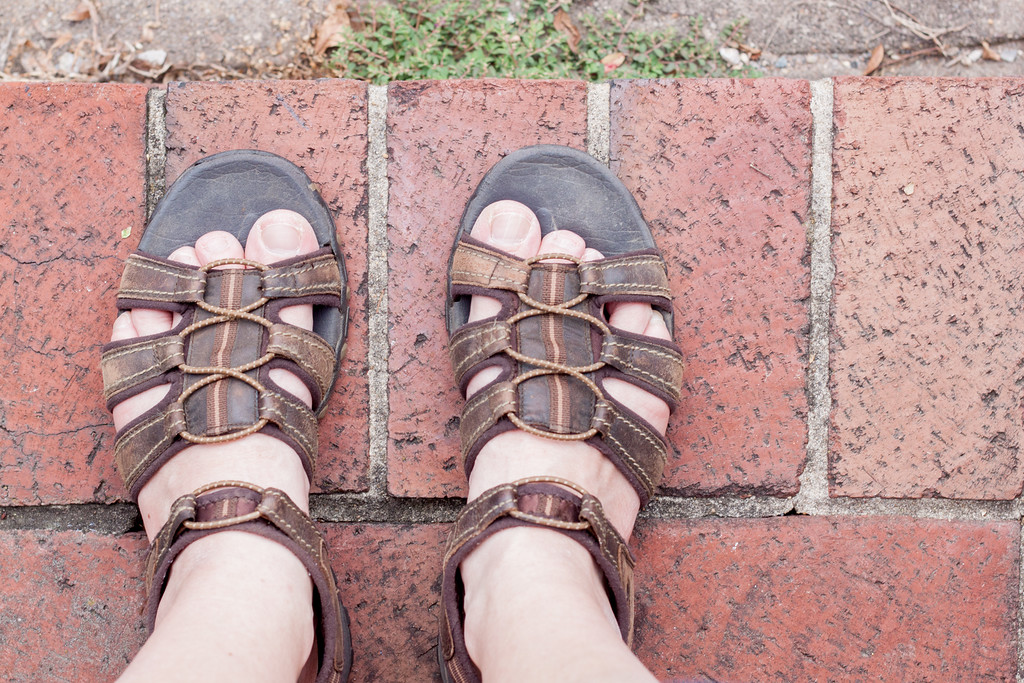 My Good Old {Sandals}