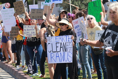Climate change rally