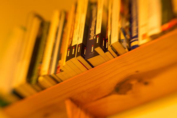 353 (365) On the bookshelf