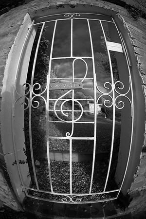 Musical gate